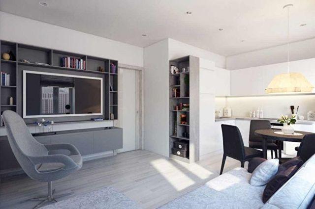 Перепланировка квартиры: перенос кухни в жилую комнату в хрущевке. Примеры невозможной перепланировка кухни с комнатой.