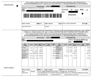 Единый платежный документ за услуги ЖКХ: что это, какие еще бывают горячие и нормативные акты, каковы их сроки хранения, а также перечень идентификаторов