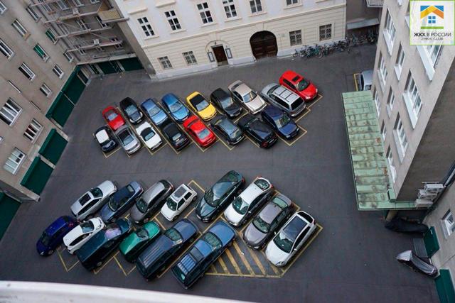 Организация парковки на придомовой территории: права жильцов при выделении машиномест для стоянки, а также общие правила